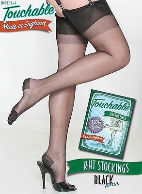 RHT Stockings - Black Small by Touchable