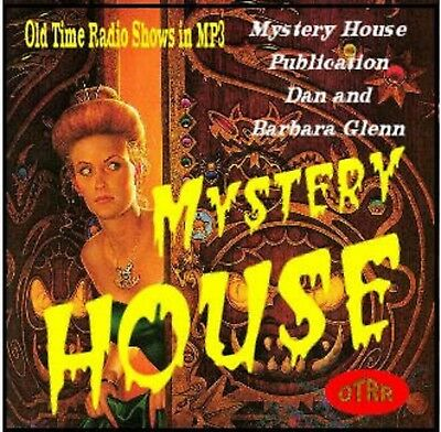 MYSTERY HOUSE OLD TIME RADIO SHOWS 32 EPISODES on MP3 CD + Free Sampler CD