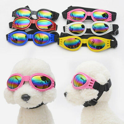 Fashion Colorful Small Pet Dog Goggles Doggles ILS Sunglasses UV Eye Protection