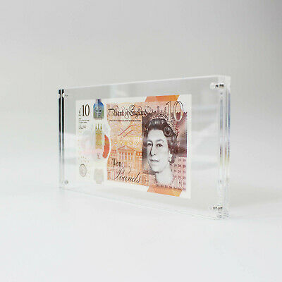 Photo Bank Note / Money Holder / Acrylic Currency Display Frame / Magnetic Photo