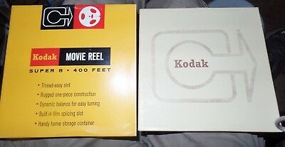 Vintage Super 8 S8 Kodak Home Movie Film Reel 400 Feet Mystery Americana Footage