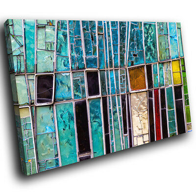 AB963 Retro Colourful Funky Modern Abstract Canvas Wall Art Large Picture Prints