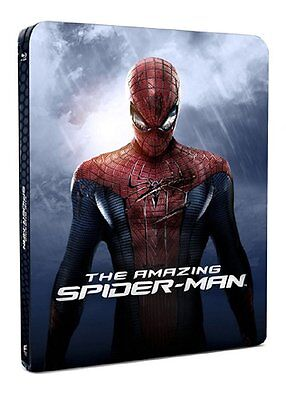 The Amazing Spider-Man - Blu Ray Steelbook (Includes 3D Lenticular Magnet)
