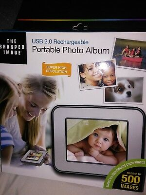 USB 2.0 Rechargeable Portable Photo Album.New open box to take pictures.
