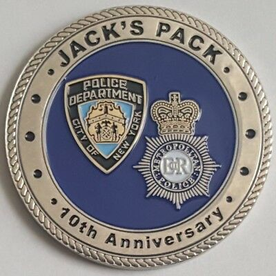 NYPD London Metropolitan Police Jack's Pack 10th Anniversary Plane Pull 5/18/15