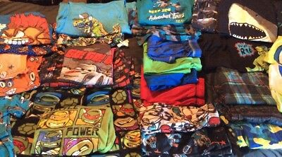 Boys 7/8 And 10/12, Great Assortment Of Pajama Sets And Extra Pjs!