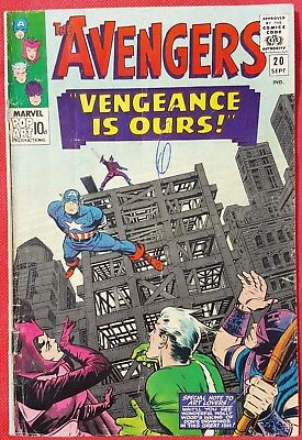 AVENGERS 20 Marvel Silver Age 1965 Vengeance is Ours