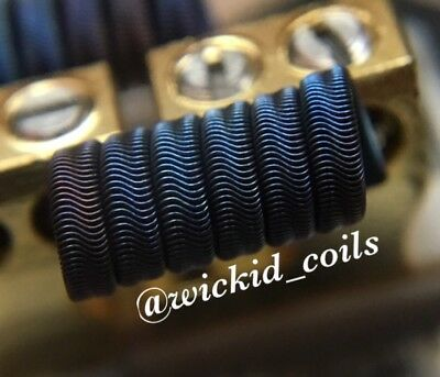 2 N90/N80 Competition Quad Core Alien Coils +Free Coils (Nichrome, Staple Killer