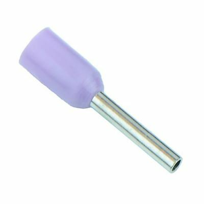 Violet 0.25mm Bootlace Ferrule - Pack of 100