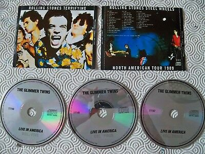 "Rolling Stones ""Terrifying Steel Wheels North American Tour"" 3Cd Atlantic C.1989"