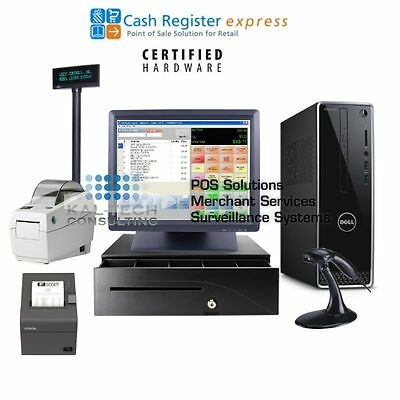 Point of Sale System Retail Store POS Complete CRE and BarcodeSoftware & Printer