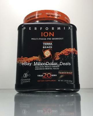Performix ION Multi-Phase Pre-Workout Tangerine Pump Terra Beads 20 Serving 106g