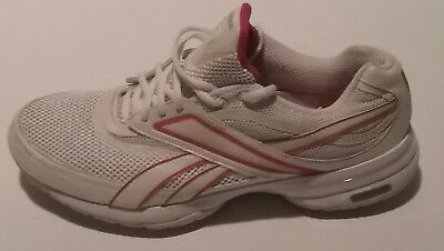 Womens Reebok SMOOTHFIT Easy Tone sneakers shoes Running White Pink Size  9.5 US 96e27aaab