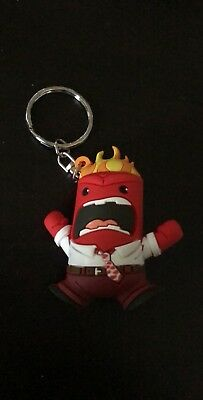 Disney Figural Keyring Series 6 3 Inch Anger Red Keychain Blind Bag