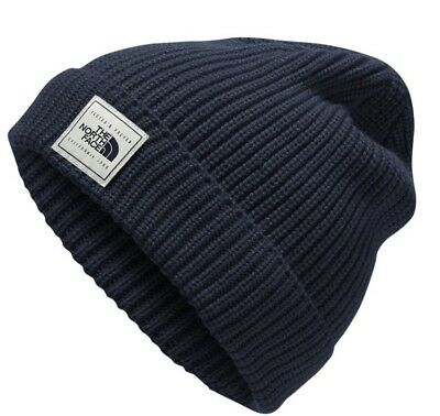 The North Face Pepper Dog Beanie In Brit Blue  (One Size)