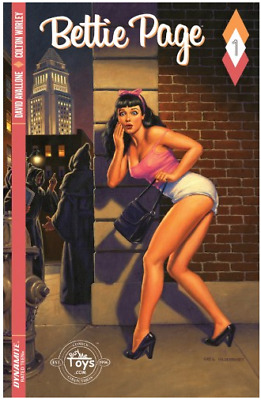 Betty Page #1 Greg Hildebrandt EXCLUSIVE VARIANT LIMITED TO 3000 RARE