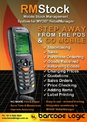 MYOB RetailManager RM Stock Stocktake Solution