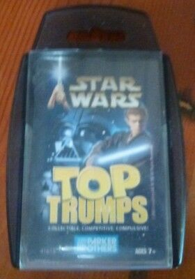 Parker Brothers Hasbro Star Wars Top Trumps Card Game 2003 New & Sealed