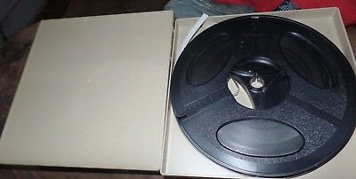 Super 8 Kodak Home Movie Film Reel 400 Feet Mystery Americana Footage, Hard Case