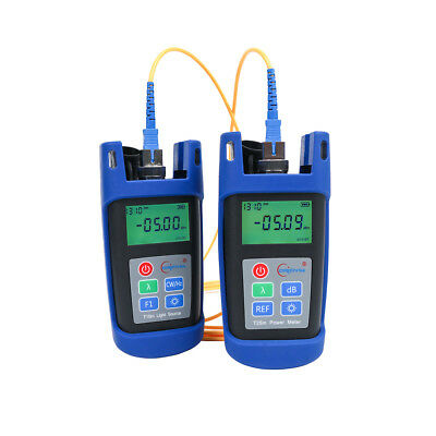 Mini Orientek Optical Power Meter Laser Light Source 1310/1550nm FTTH Test Tool
