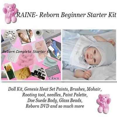 Mohair for Reborn Baby Doll Supplies Premium Curly Golden Baby DIY Hair Kits 18g