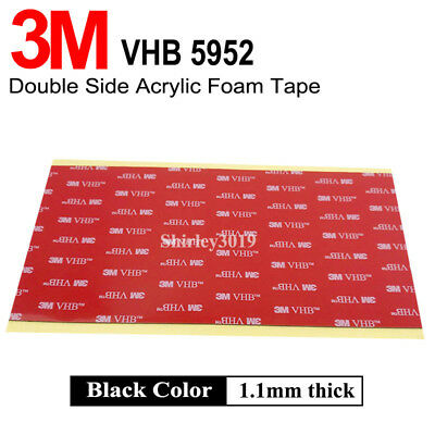 3M VHB #5952 Double Sided Foam Automotive car GoPro Adhesive Sheet Mounting Tape