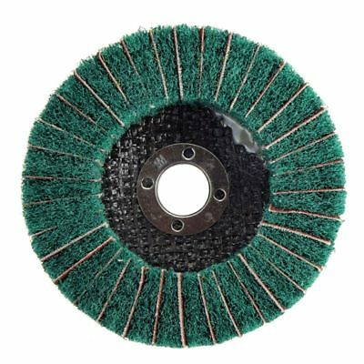 4inch 100mm Diameter Grit Nylon Fiber Flap Polishing Grind Wheel Disc Green B8Y6