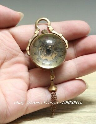 China crystal sphere of mechanical watch Chinese Hollow Bell ball