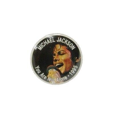 DyDo Coffee x Michael Jackson You Are Not Alone 1995 Pins Badge Japan Exclusive!