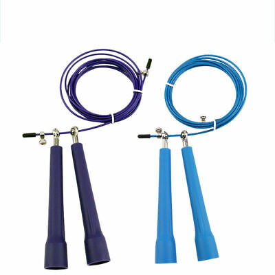 Aerobic Exercise Gym Training Fast  Adjustable  Speed Skipping Jump Ropes