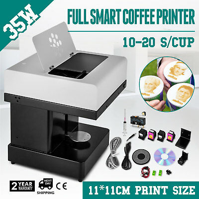 Coffee Printer Milktea Printing Machine Latte Printer Inkjet Printing 110V Cream
