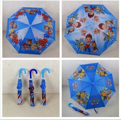 Paw Patrol foldable Umbrella with Whistle automatic open kids boys girls gift AU