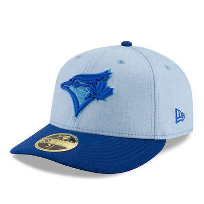 check out c5d29 52b24 2018 New Era Toronto Blue Jays 59fifty 7 Cap Hat MLB Father s Day Low Crown
