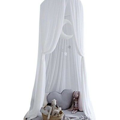 Baby Crib Mosquito Net Infant Nursery Netting Dome Folding Summer Canopy Bedding