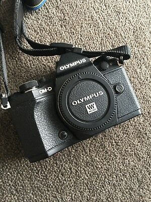 Olympus OMD EM5 MKII - Black - With battery grip and extras