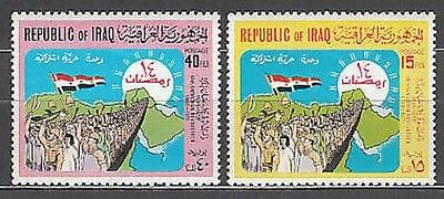 Iraq - Mail Yvert 613/4 Mnh