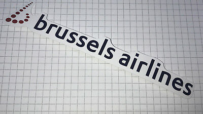Airline Sticker Brussels Airlines - Outdoorgeeignet