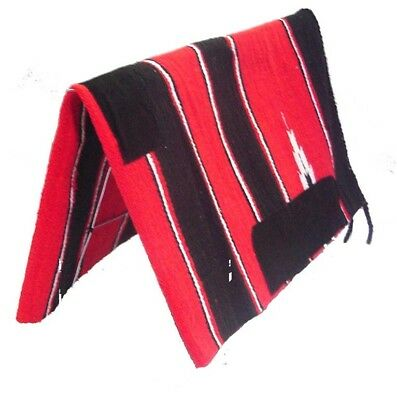 Western Saddle Blanket ~ Navaho~ Available In Purple Blue Red 30x30  30x60 inch