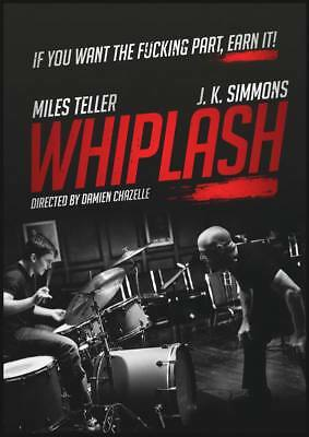 "14458 Hot Movie TV Shows - Whiplash 2014 48 14""x19"" Poster"
