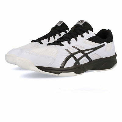 Asics Mens Gel-UpCourt 3 Indoor Court Shoes White Lightweight Trainers