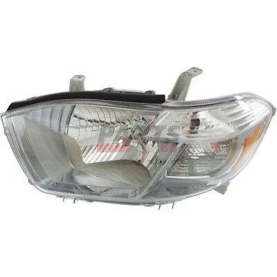 New Head Lamp Assembly Fits 2010 Toyota  Highlander Front Left To2502202C Capa