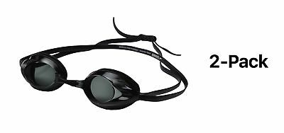 Speedo Vanquisher Optical Swim Swimming Goggles Smoke Diopter -4.0 (2-Pack)