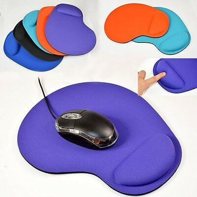 Gaming Mouse Pad Mat Wrist Rest Support PC Laptop 2-in-1 Memory Foam Cushion