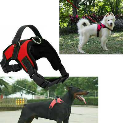 SoftHarness Dog Pulling Harness Support Pet Comfy Pitbull Train Small/XL