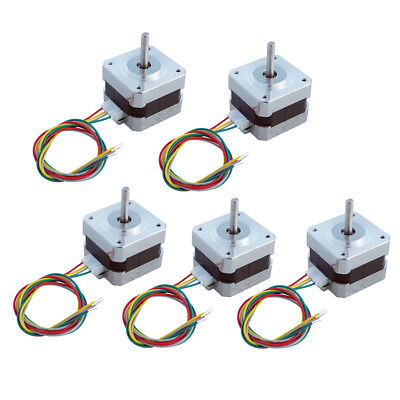 ECO Nema 17 12V Stepper Motors 26Ncm 0.4A  1.8° 26Ncm/36.8oz.in CNC 3D Printer