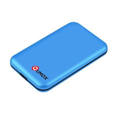 "QUMOX USB 3.0 Enclosure 2.5"" External SATA Hard Drive HDD/SSD Case Blue QH-17U3"