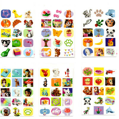36 Packs LEGO FRIENDS Pets MINI STICKERS   PARTY BAG FILLERS   15P PACK