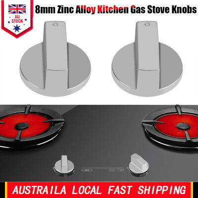 2X Universal Gas Stove Knobs Cooker Oven Hob Kitchen Switch Control Metal New