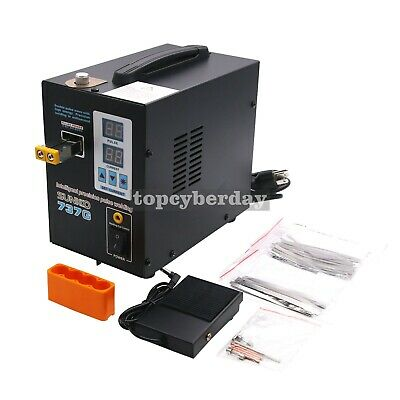737G Spot Welder 110V 1.5KW Welding Machine LED Light for 18650