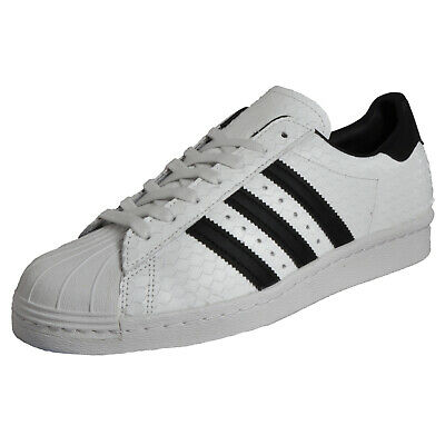 5cfc80efb7f Adidas Originals Superstar 80s Men's Classic Retro Fashion Trainers White  LTD Ed